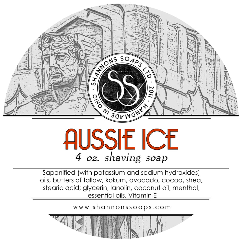 Aussie Ice Artisan Shaving Soap