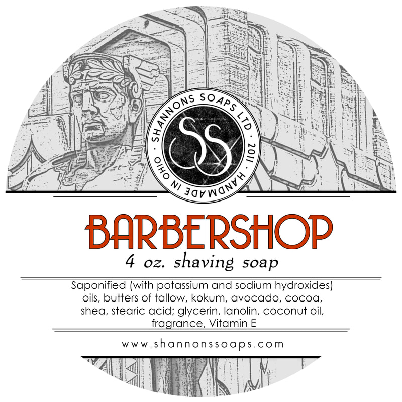 Barbershop Artisan Tallow Shaving Soap