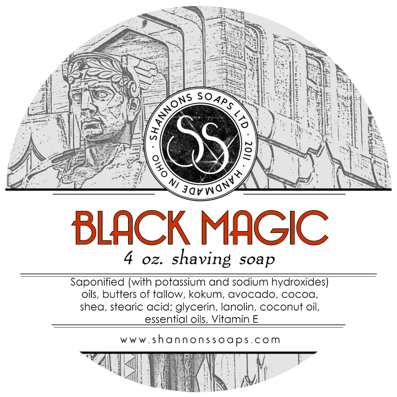 Black Magic Shaving Soap
