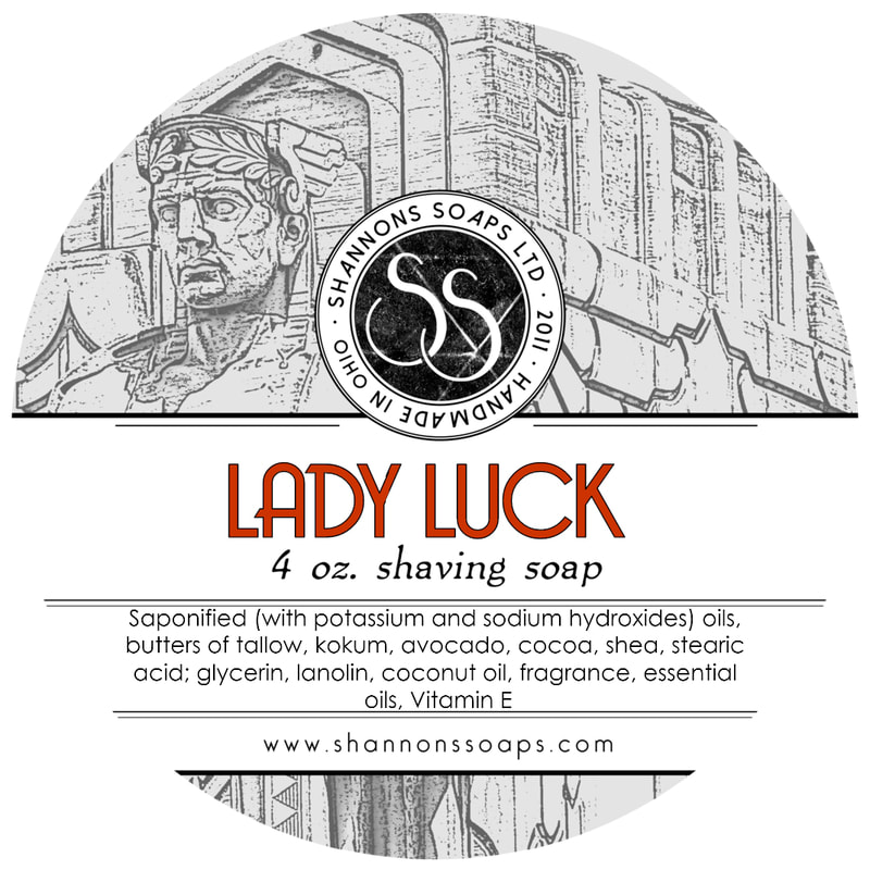 Lady Luck Tallow Shaving Soap
