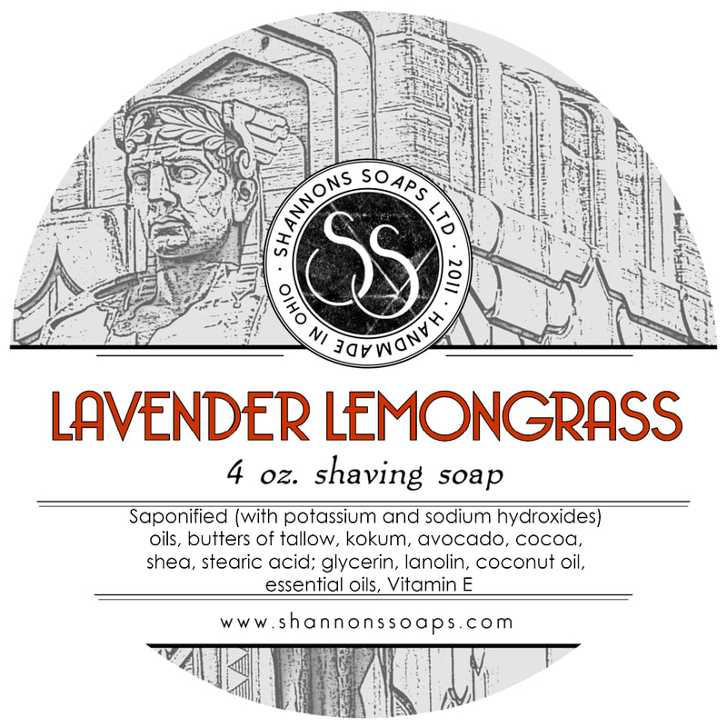 Lavender Lemongrass Tallow Shaving Soap