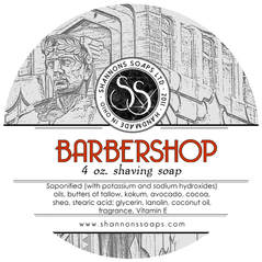 Barbershop Tallow Shaving Soap