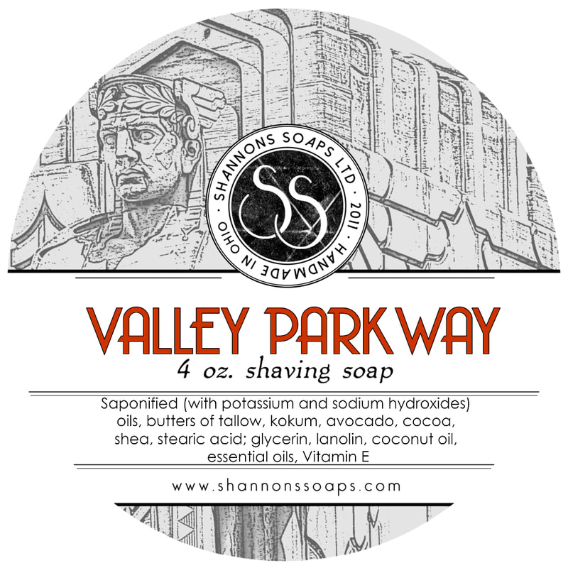Valley Parkway Shaving Soap